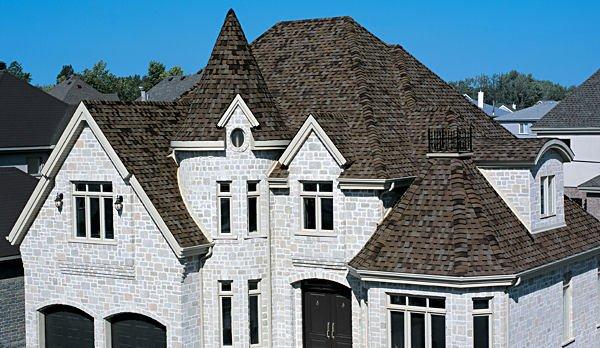 Asphalt Shingles Steep Combination Roof