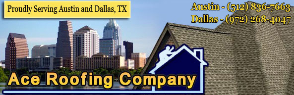 Ace Roofing Company Logo