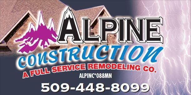 Alpine Construction Roofing Contractors In Spokane Wa