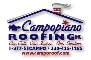 Campopiano Roofing Inc Logo