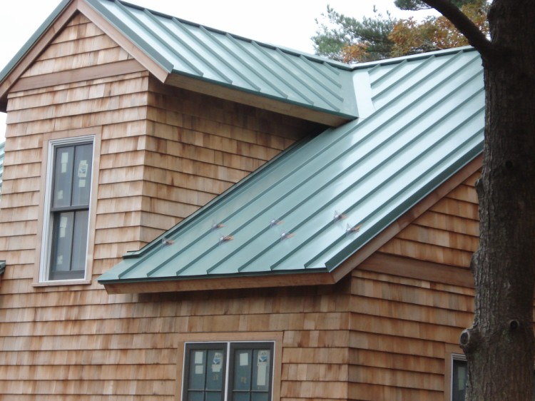 Great Standing Seam Metal Roof