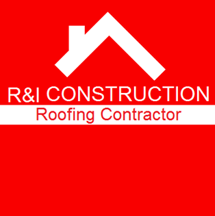 R&I Construction Roofing Contractor Logo