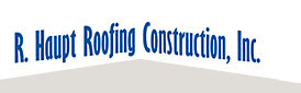 R Haupt Roofing Construction Logo