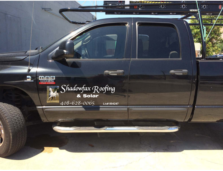 Shadowfox Roofing & Solar - Company Truck