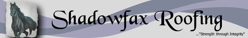 Shadowfax Roofing Logo
