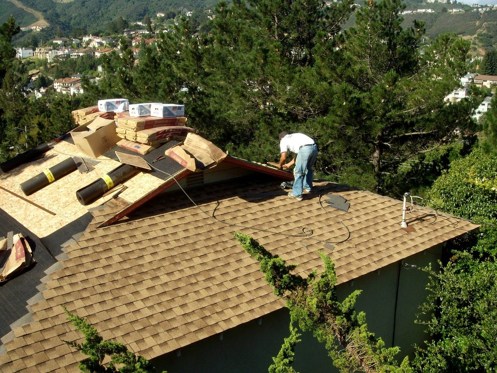 Asphalt Shingles Installation by Signature Roofing Inc. on a home in San Francisco.