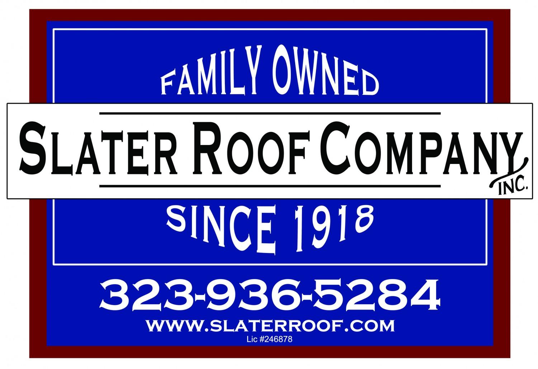 Slater Roof Company, Inc.Logo