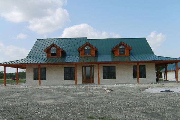Verdant Metal Roof