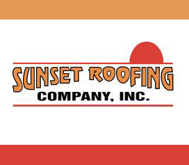 Sunset Roofing Co Logo